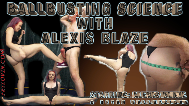 Ballbusting Science with Alexis Blaze