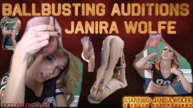 Ballbusting Auditions – Janira Wolfe