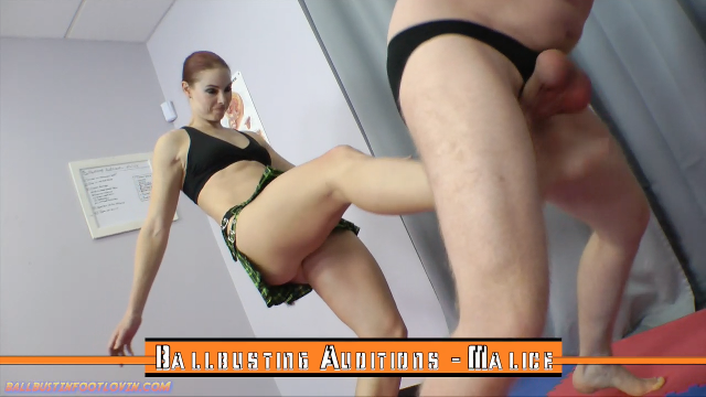Ballbusting Auditions – Malice