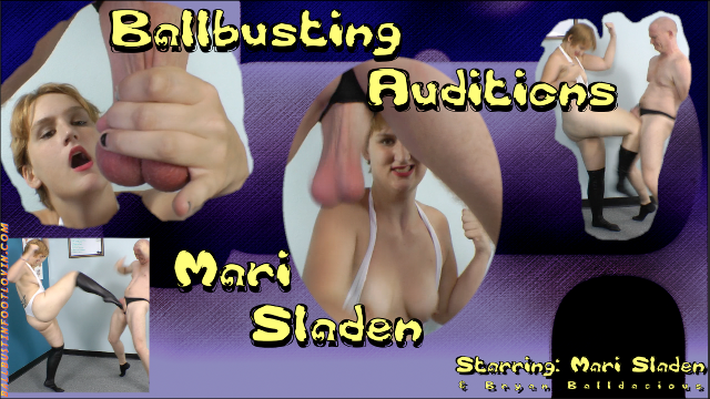 Ballbusting Auditions – Mari Sladen