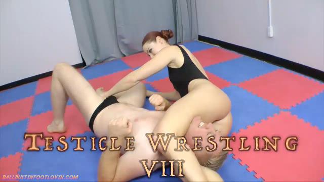 Testicle wrestling