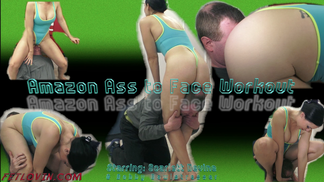 Amazon Ass to Face Workout
